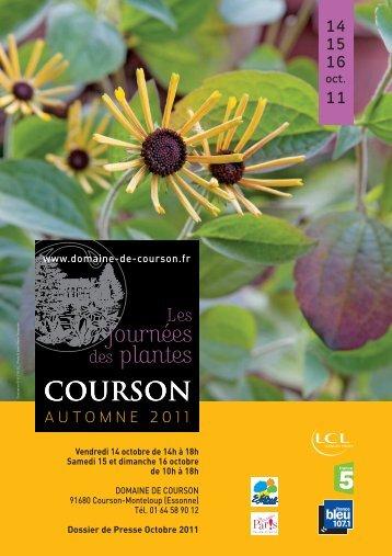 Dossier de presse - Domaine de Courson