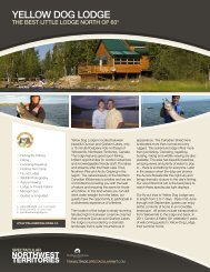 YELLOW DOG LODGE - NWTT Travel Trade