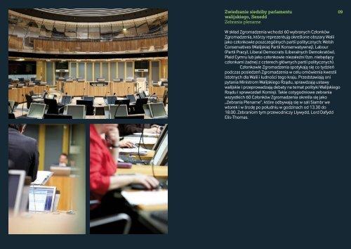 Zgromadzenie Narodowe Walii Zwiedzanie siedziby parlamentu ...