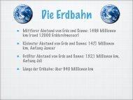 Kleinster Abstand von Erde und Sonne - israng.ch