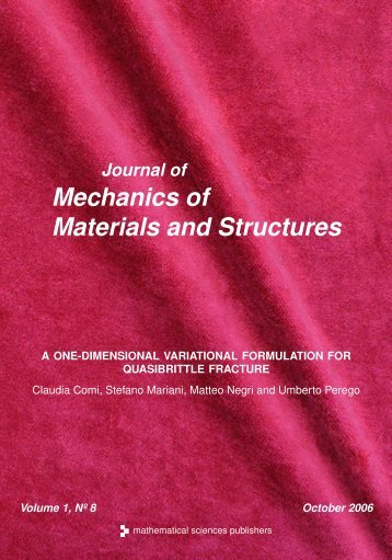 A one-dimensional variational formulation for quasibrittle fracture