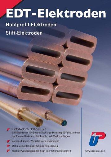 EDT-Elektroden - Udo Plante GmbH