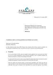 DTAP Conférence suisse des directeurs des travaux publics ... - CSP