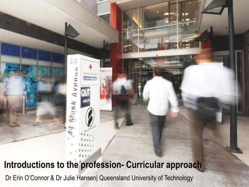 Introductions to the profession- Curricular approach - APS Member ...
