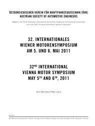 Nachlese zum 32. Internationalen Wiener Motorensymposium