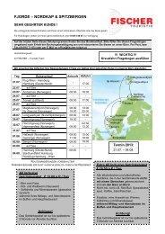 KF Fjorde - Nordkap & Spitzbergen 2013 - ++ fischer reisen ++