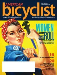 May/June 2012 - League of American Bicyclists