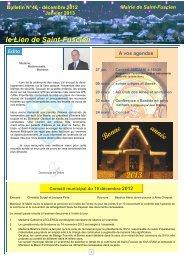 Lien n°46 - décembre 2012 - Saint-Fuscien