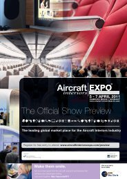 The Official Show Preview - Aircraft Interiors Expo