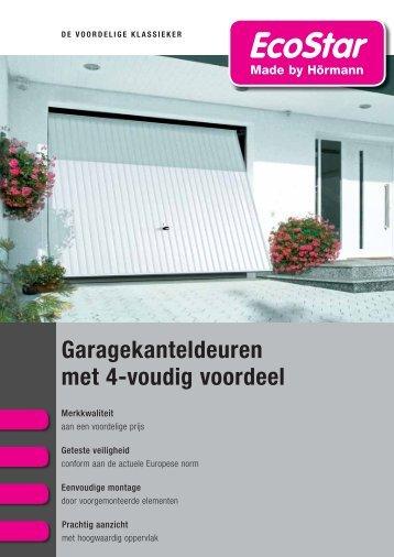 Brochure Garagekanteldeuren - EcoStar