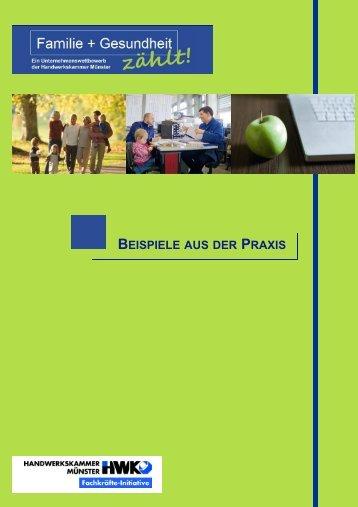 BEISPIELE AUS DER PRAXIS - Aktionsplattform Familie@Beruf.NRW