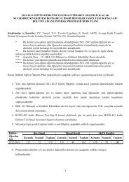 2012-2013 eğitim öğretim yılından itibaren geçerli olacak nevşehir ...