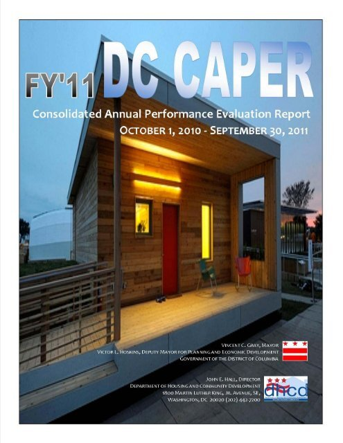 Final FY11 CAPER 12-29-11.pdf - Department of Housing and ...