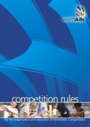 WorldSkills Competition Rules - nead@senairs.org.br