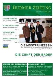 Ausgabe 02/2007 (534 KB) - Marktgemeinde Hürm