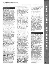 Rehabilitation Gazette (Vol. 36, No. 2, Summer 1996) - Polio Place
