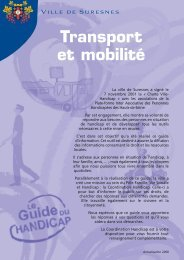 le transport et la mobilité (pdf - 236,92 ko) - Suresnes