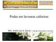 Manejo de podas do cafeeiro - Fundação Procafé