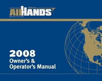 Owner's & Operator's Manual