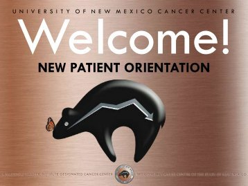 patient & family support services - UNM Cancer Center - University ...