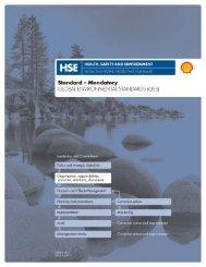 Global Environmental Standards