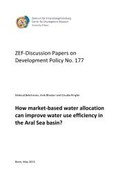 ZEF-Discussion Papers on Development Policy No. 177 How market ...