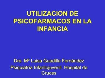 UTILIZACION DE PSICOFARMACOS EN PEDIATRIA - Asociación ...