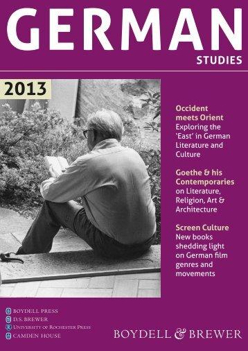 STUDIES - University of Rochester Press