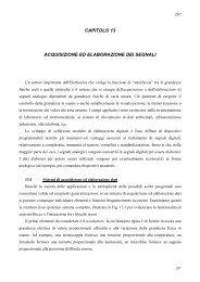 capitolo 13 acquisizione ed elaborazione dei segnali - dieet