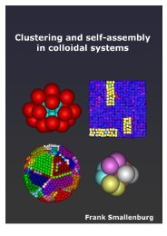 Clustering and self-assembly in colloidal systems - Universiteit Utrecht
