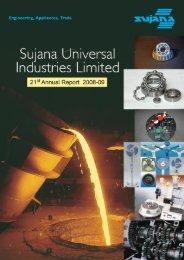Annual Report - Sujana Group