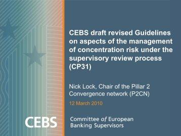 Presentation - European Banking Authority