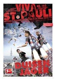 15. Spieltag: FC St. pauli – MSV DuiSBuRg Anstoss: sonntAg, 25.11 ...