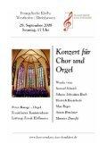 September bis November - Evangelische Kirchengemeinde ... - Page 5