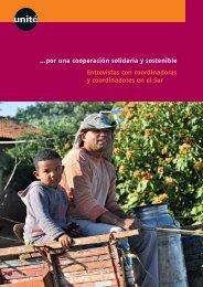 …por una cooperación solidaria y sostenible Entrevistas con ... - Unité