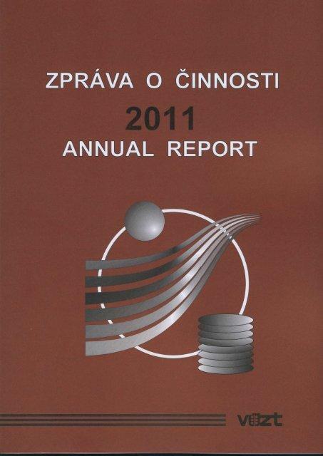 Zpráva o činnosti v roce 2011 (28MB) - SVT