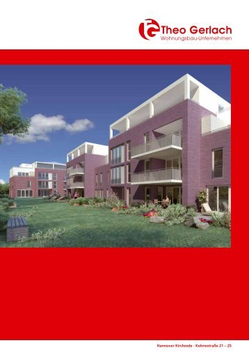 Hannover Kirchrode · Kohnestraße 21 – 25 - Gerlach Wohnungsbau