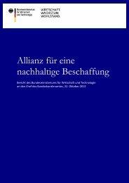 Allianz für eine nachhaltige Beschaffung - DSTGB VIS