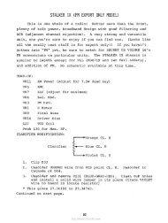 Stalker IX (FM Export Only Model) Frequency Expansion ... - CB Tricks