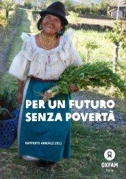 per un futuro senza povertà - Oxfam Italia