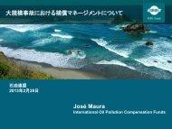 スライド原稿(PDF) - 石油連盟の油濁対策