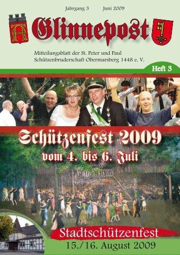 Schützenfe–t 2009 - St. Peter und Paul Schützenbruderschaft ...