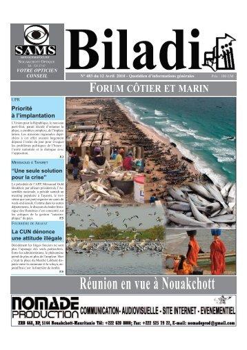 Réunion en vue à Nouakchott - RMI Biladi