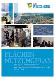 Dokumentation Jugendforum - Stadt Unterschleißheim