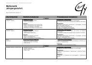 FK_Mathe_Curriculum_6 - Gymnasium Herkenrath
