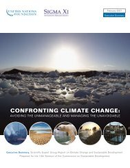 UN report on Confronting Climate Change - CarbonCounted