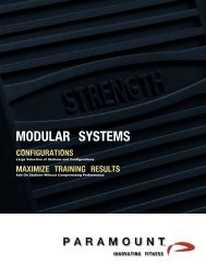 Modular Systems - Total Strength and Speed