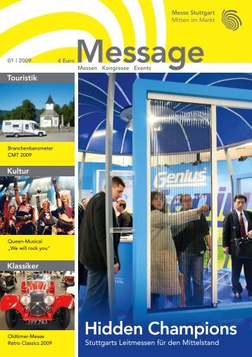 Message Ausgabe 1/2009 (PDF | 6 MB) - Messe Stuttgart