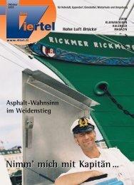 Nimm' mich mit Kapitän… - Redaktionsbüro Mark Bloemeke