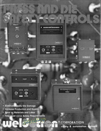 Weldotron Press and Die Safety Controls Brochure - Sterling ...